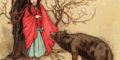قصة ليلى والذئب كاملة ومختصرة وبجميع اللغات